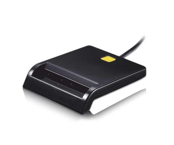 Lector dni externo tooq USB 2.0 negro  tqr-210b