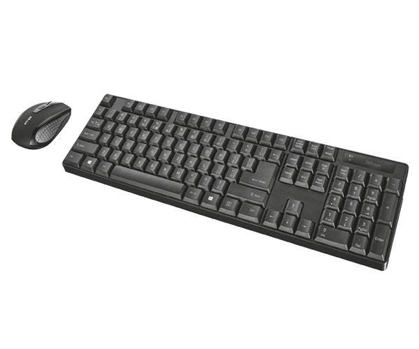 Combo teclado + raton inalámbrico Trust Ximo con nano receptor USB