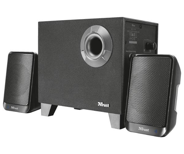 Altavoces Trust Evon 2.1 - Bluetooth - subwoofer madera - 30w rms