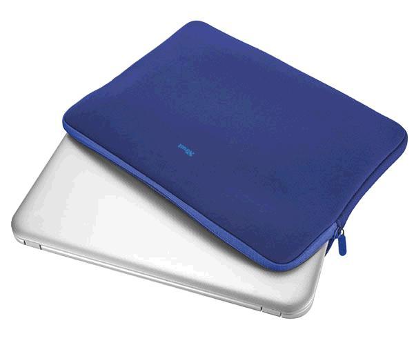 Funda Trust Primo Universal neopreno portatil - tablet - 11.6 Pulg. - Azul
