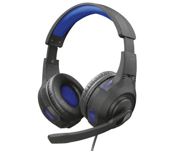 AURICULARES TRUST GAMING GXT 307B RAVU AZUL - MICRO PEGABLE - PC - PS4 - XBOX ONE - NINTENDO