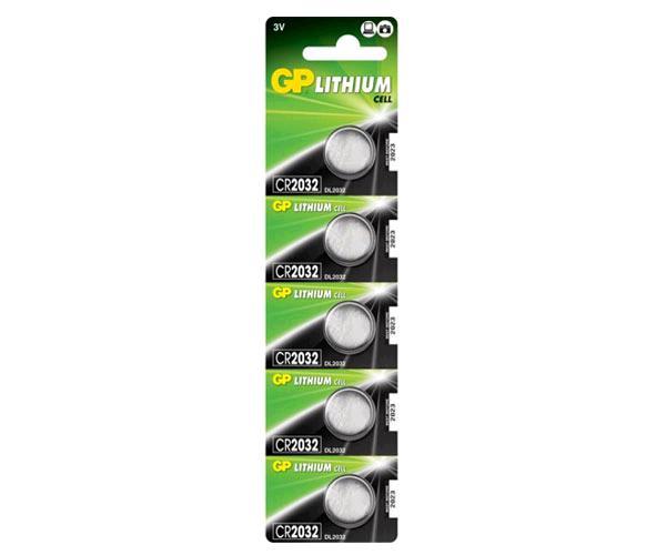 Pila boton litio cr2032 3v Uniross ( 5pcs)