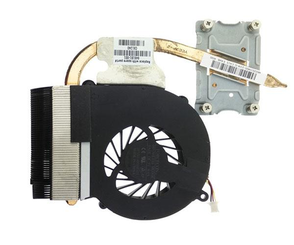 Ventilador portatil Hp cq43 heatsink 3 pines