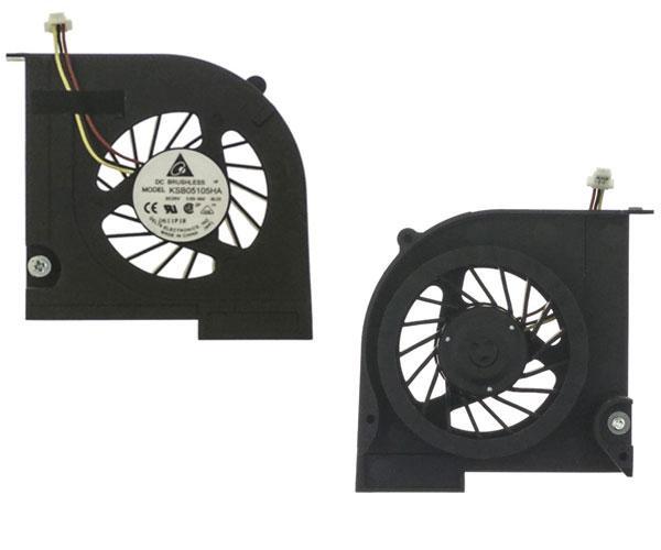 Ventilador Hp dv3-4100 - dv3-4050  610877-001