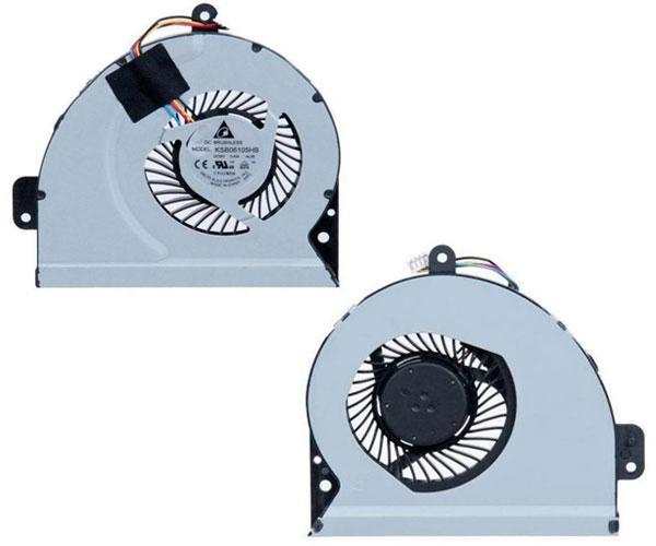 Ventilador Asus a43 - k43 - x54h - k53sj - intel 4 pines