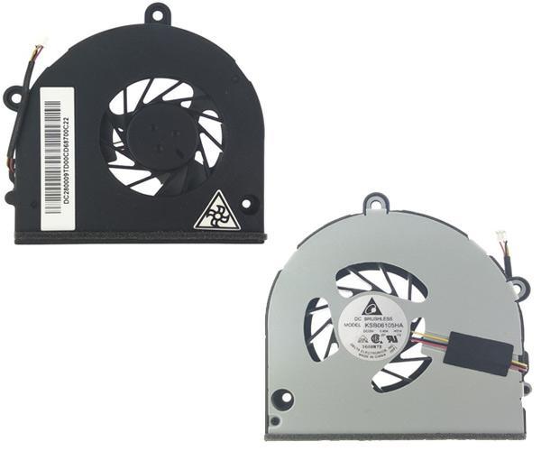Ventilador Toshiba Satellite c660 - l675 - l675d - 3 Pines