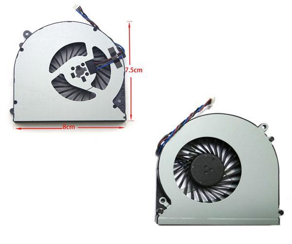 Ventilador Toshiba Satellite L50 - L50-a - L50t-a - Fujitsu A514 - A544 - A556 - 4 Pines