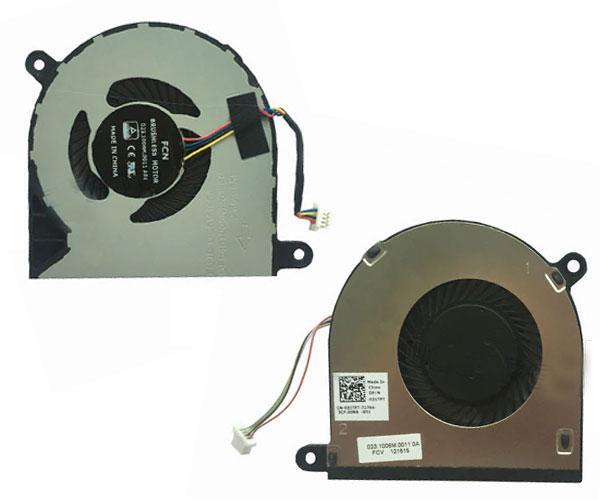 Ventilador portatil Dell Inspiron 13 5368 - 13 5378 - 15 5568 - 13 7000 - 15 5000