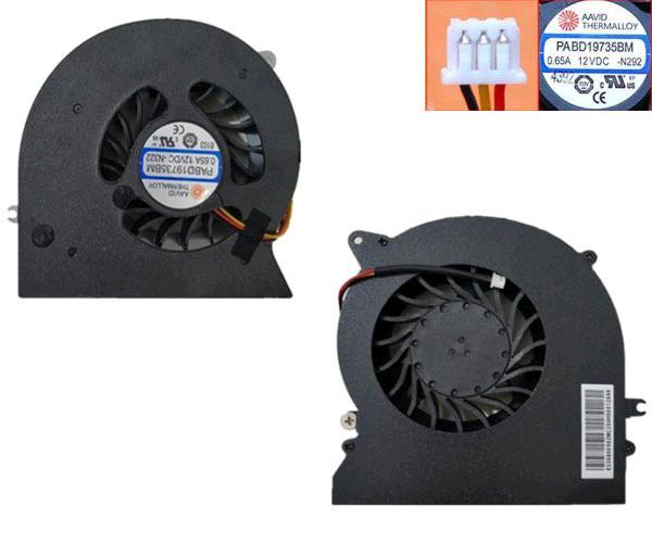 VENTILADOR MSI GT72 - GT72S - GX60 - 782 - 3 PINES