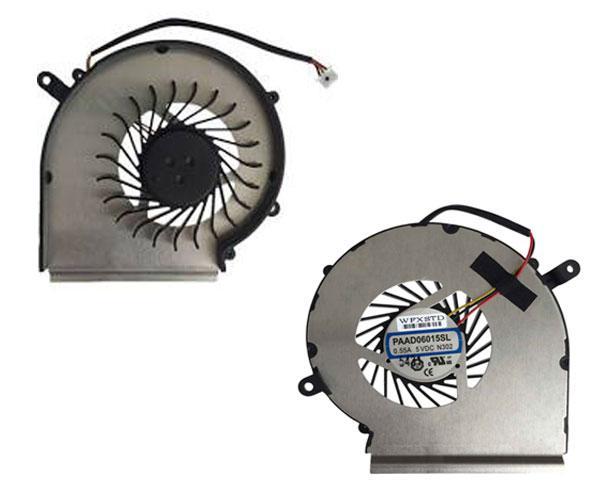 VENTILADOR MSI GE72G - GE62 - GE72 - PE60 - PE70 - PAAD06015SL