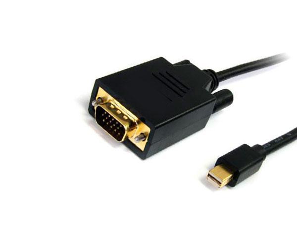 Adaptador Mini DisplayPort a VGA Macho - 1080p 60hz