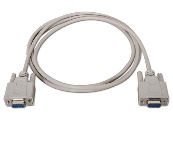 Cable serie rs232 db9 hembra a db9 hembra - c-10.14.0302
