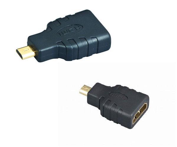 Adaptador HDMI hembra a Micro HDMI macho - a-hdmi-fd