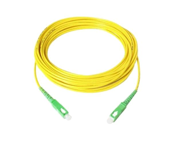 Cable Fibra Optica Monomodo Sc Apc-sc  Apc 9-125u  2 Metros LZH - Netlock