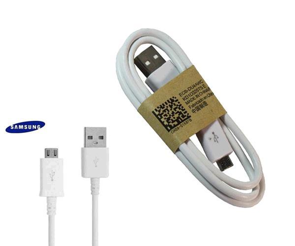 Cable datos Micro USB orig. Samsung  ecb-du4awc-e  - blanco - bulk