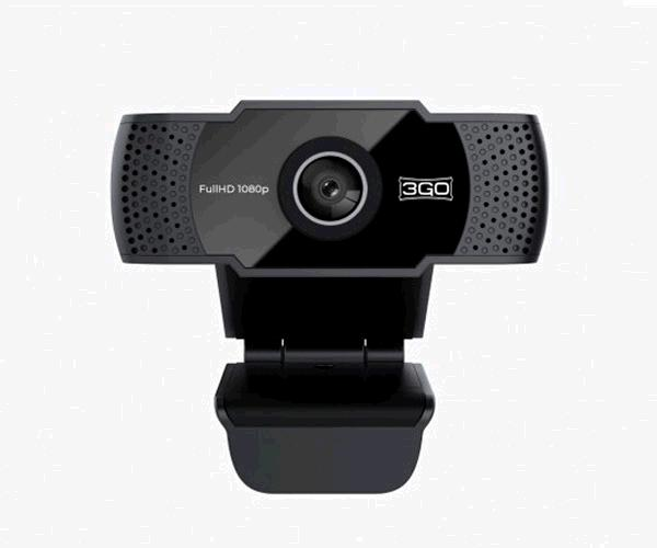 Webcam FullHd 3Go Viewplus - 1080p - Usb - Negra