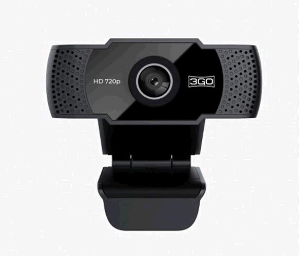 Webcam Hd 3Go View - 720p - Usb - Negra