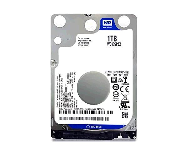 Disco duro Western Digital Blue 2.5 - 1tb - sata 3 - 128mb - 5400rpm