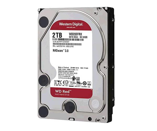 Disco duro western digital Nas red 2tb sata3 - 64mb - 5400 Rpm - Wd20efrx