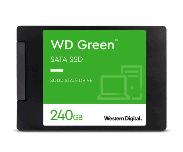 Disco duro 2.5 SSD Western digital 240Gb Green - Sata 3 - Wds240g2g0a