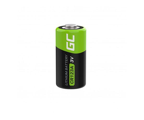 Pila litio cr123 3v 1400mah  Greencell ( 1pcs)