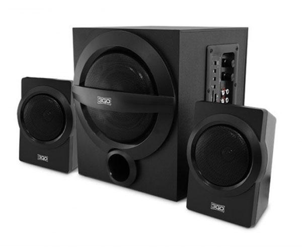 Altavoces pc 2.1 Y750 Bluetooth - 42w Rms - Sd - Fm - Aux - Negro - 3Go