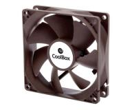 Ventilador Coolbox 80mm / 1600Rpm / 3 Pines / (8x8cm)