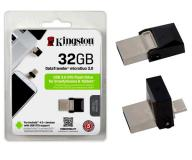 PENDRIVE KINGSTON 32GB DATATRAVELER MICRODUO USB 3.0 + OTG MICROUSB