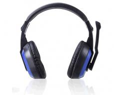 Auriculares gaming  luz LED / ct649 / pc / ps4 / Xbox one / switch / negro / MTK