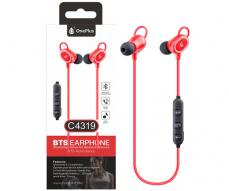 AURICULARES BLUETOOTH SPORT + MICRO CETUS C4319 ROJO ONE+