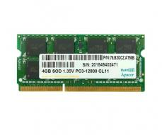 Memoria ram Apacer SO-DIMM 4Gb DDR3 / 1600 mhz / cl11