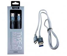 CABLE DATOS HAVIT HV-CB723X USB 3.0 A TYPE-C FLEXIBLE 1M