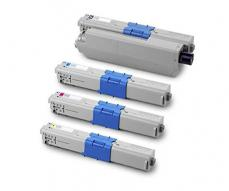 TONER ALTERNATIVO OKI C310/C510 AMARILLO 2000 PAG