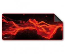 ALFOMBRILLA GAMING PHOENIX FACTORPAD XL NEGRA-ROJA 900X300X3MM / ANTIDESLIZANTE