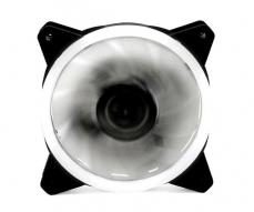 VENTILADOR GAMING DOBLE LED BLANCO PHOENIX 12CM / 3 A 4 PINES / SILENCIOSO / 1200 RPM