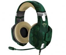 Auriculares Trust gaming gxt 322 Carus Jungle Camo / sonido potente / pc / ps4 / Xbox one / Nintendo