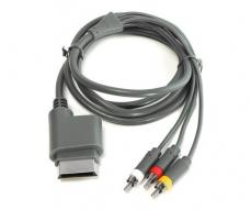Cable video/audio rca + salida optica digital Xbox 360